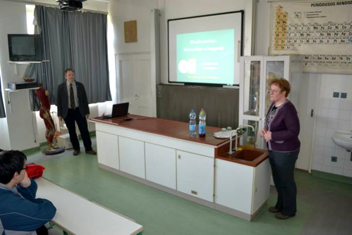 Előadás és kiállítás a biodiverzitásról