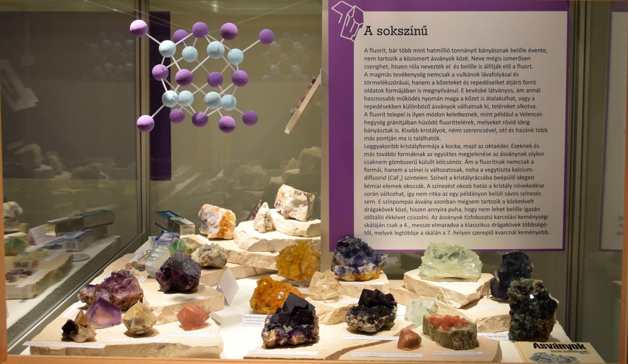 A fluorit – színek, formák, történetek
