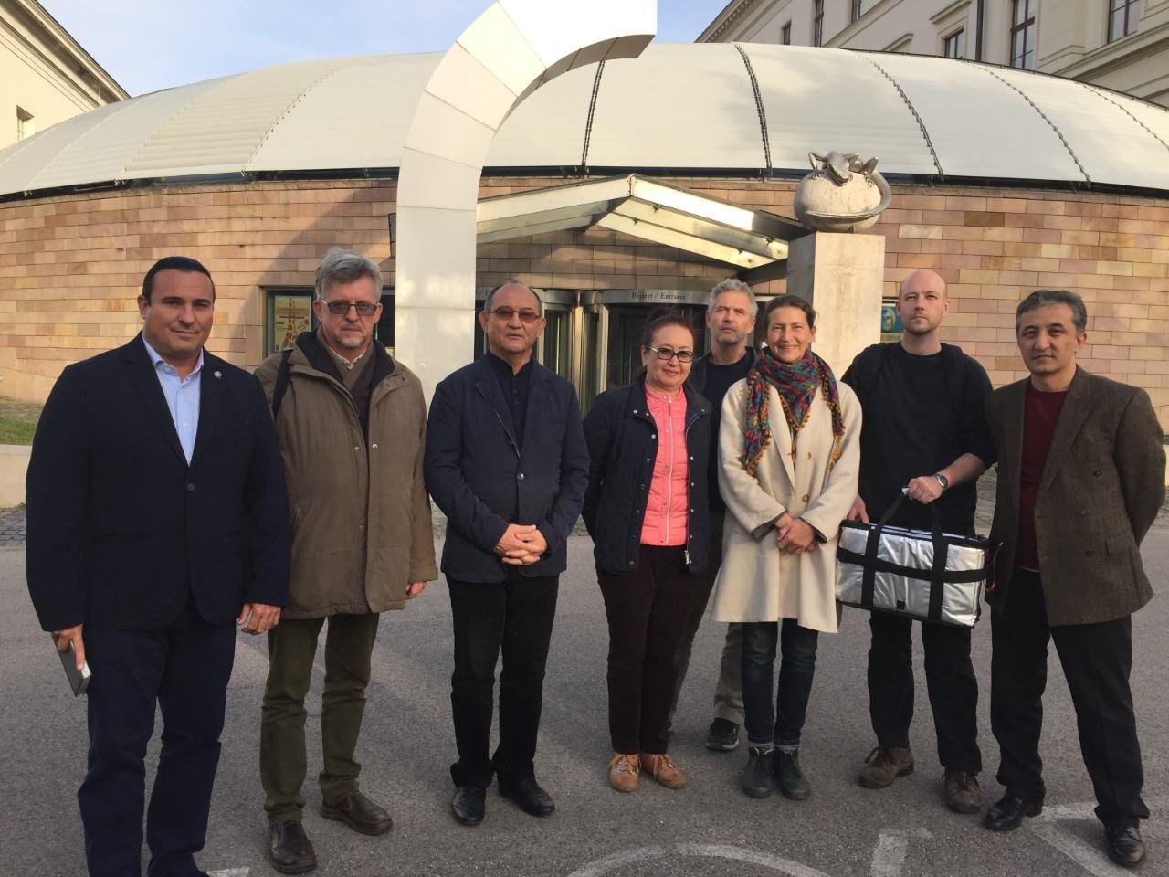 A kazah szabadságharcos, Kejki batir arcrekonstrukciója