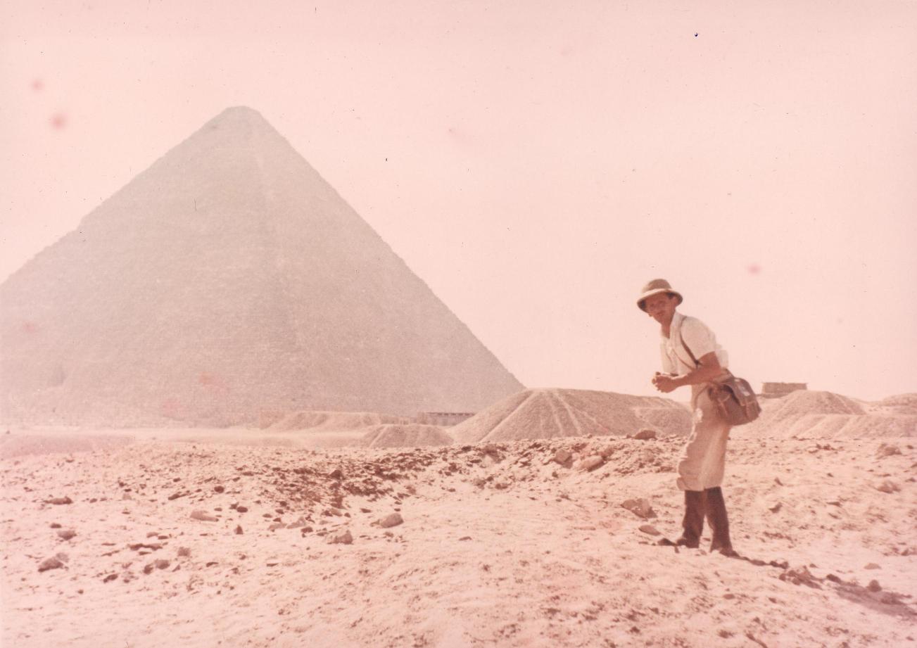 Sajnos a gizai piramis megmászásáról nem maradt felvétel.