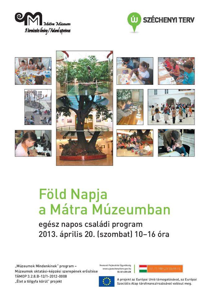 Föld Napja az (MTM) Mátra Múzeumában