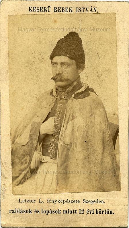 Egy magyar betyár a 19. század végéről