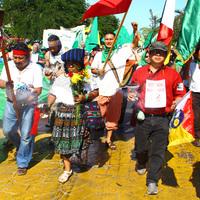 Cancún 7. nap - Vasárnapi felvonulás a klíma igazságosságért