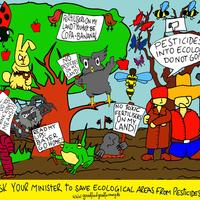 Védjük meg az ökológiai célterületeket a vegyszerektől és a műtrágyáktól!