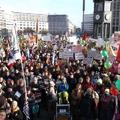 Tízezrek Berlin utcáin: