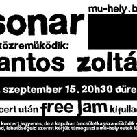 Szeptember 15. Sonar + Lantos Zoltán