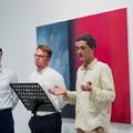 JELEK AZ ÉGBOLTON - PAKSI ENDRE LEHEL művészettörténész megnyitó beszéde