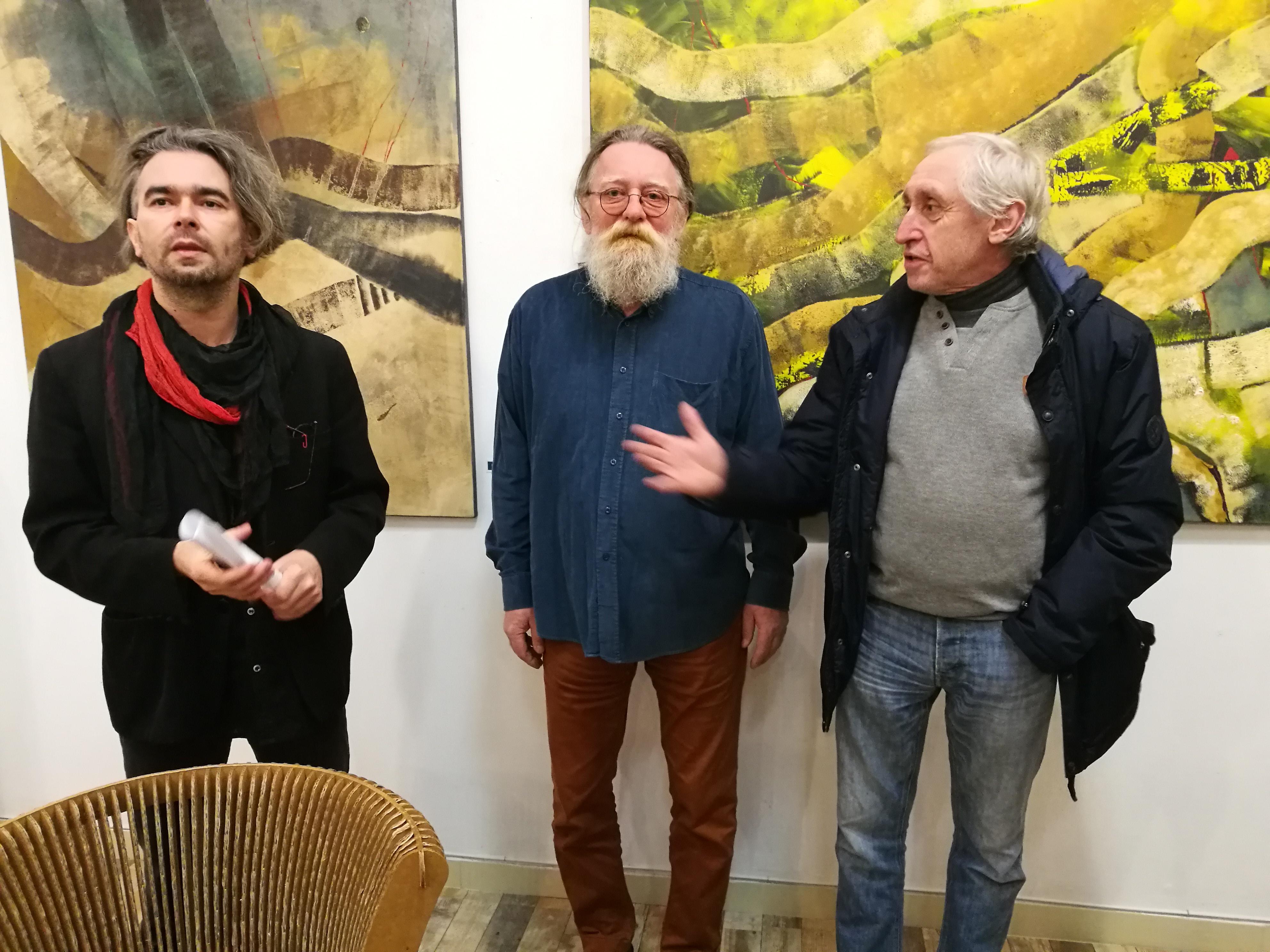 Angyalok az úton- Nagy Zopán megnyitóbeszéde Ghyczy György kiállítása elé
