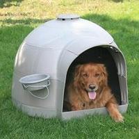 Műanyag kutyaház
