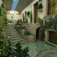 A beépített terasz, télikert falburkolata