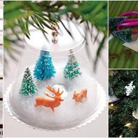 Kreatív karácsonyi ajándékok és dekorációk műanyagokból