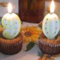 Muffin születésnapi torta helyett