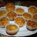 Kukoricás-császárszalonnás (keiser) muffin