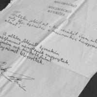 Mario Benedetti: Műferdítés (1989?)