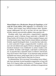 Roberto Bolaño: Vad nyomozók 217. oldal