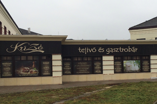 Krizsó Tejivó és Gasztrobár, Székesfehérvár - gasztro teszt