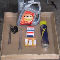Első saját kezű olajcserém a Suzukin