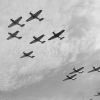Lélegzetelállító fotók az angliai csatáról