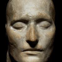 Elkelt Napóleon halotti maszkja