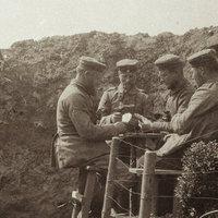 Sosem látott képek a német lövészárkokról