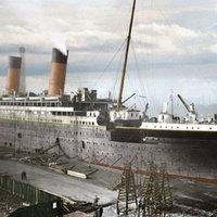 A Titanic színesben