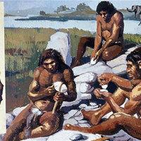 Megsüthette a galambot a neandervölgyi