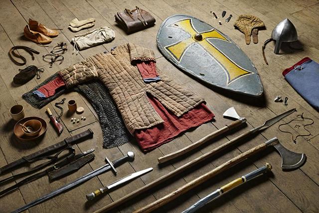 3faac3faf9c0 Így változott az angol katonák felszerelése 1000 év alatt - Múlt-kor