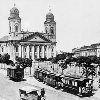 Így nézett ki Debrecen száz éve