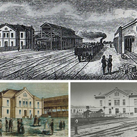 A debreceni Nagyállomás rövid története - gyönyörű indóházunk születése és pusztulása