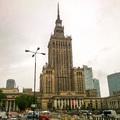 Varsó szocreál építészete