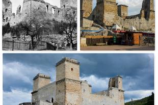 A Diósgyőri vár régen és most