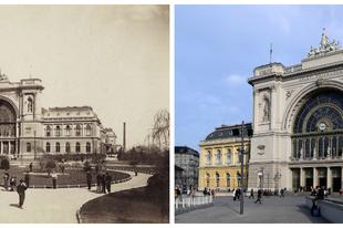 Magyar pályaudvarok régen és most