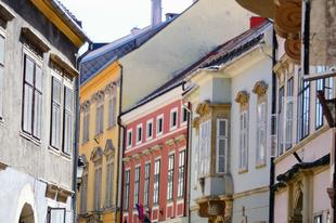 Sopron, Templom utca részlet