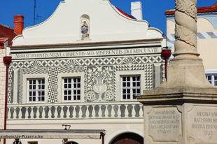 A megszépült kőszegi Sgraffitós-ház