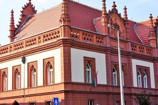 A veszprémi Eötvös Károly Megyei Könyvtár gyönyörű épülete