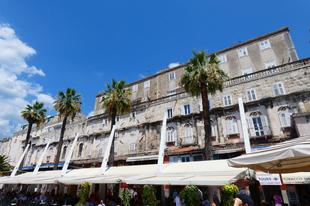 Split legjelentősebb műemléke: Diocletianus palotája