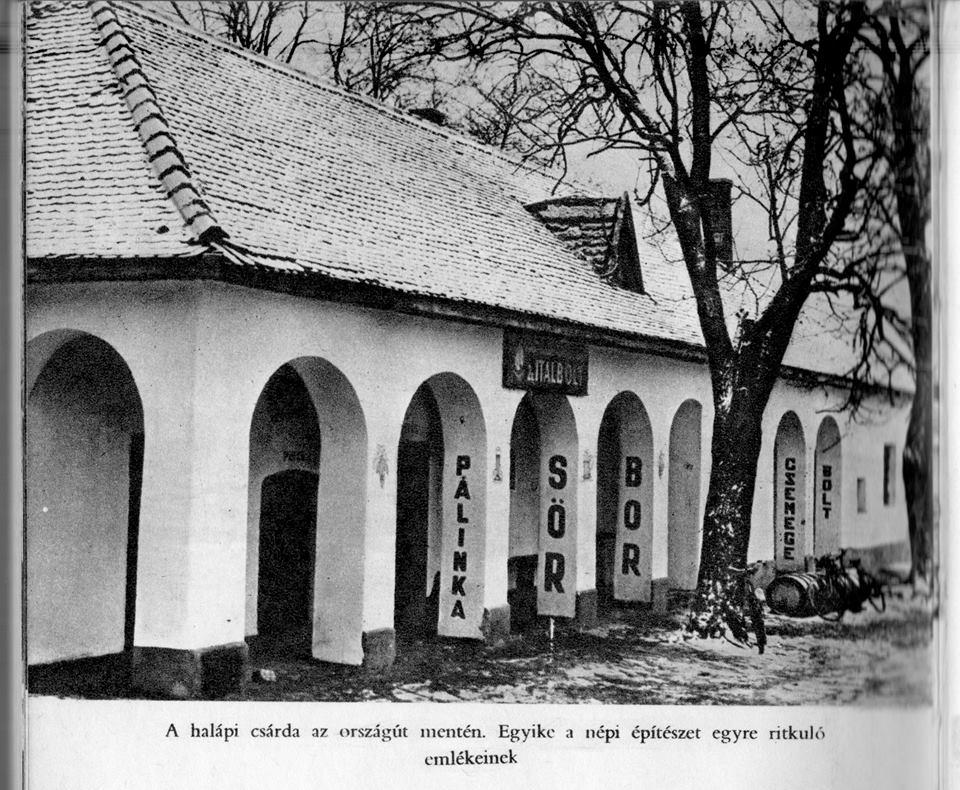 Kép:  https://erdospusztaihorg.wordpress.com/halapi-csarda-multja-es-jelene/
