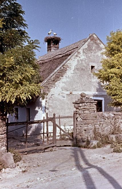 Régi lakóház 1963-ban. Kép: Fortepan / Herbály István