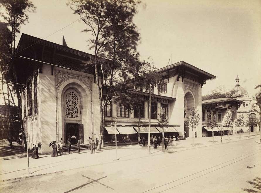 A boszniai iparcsarnok épülete. <br /><br />Forrás: Fortepan / Budapest Főváros Levéltára. Levéltári jelzet: HU.BFL.XV.19.d.1.09.049
