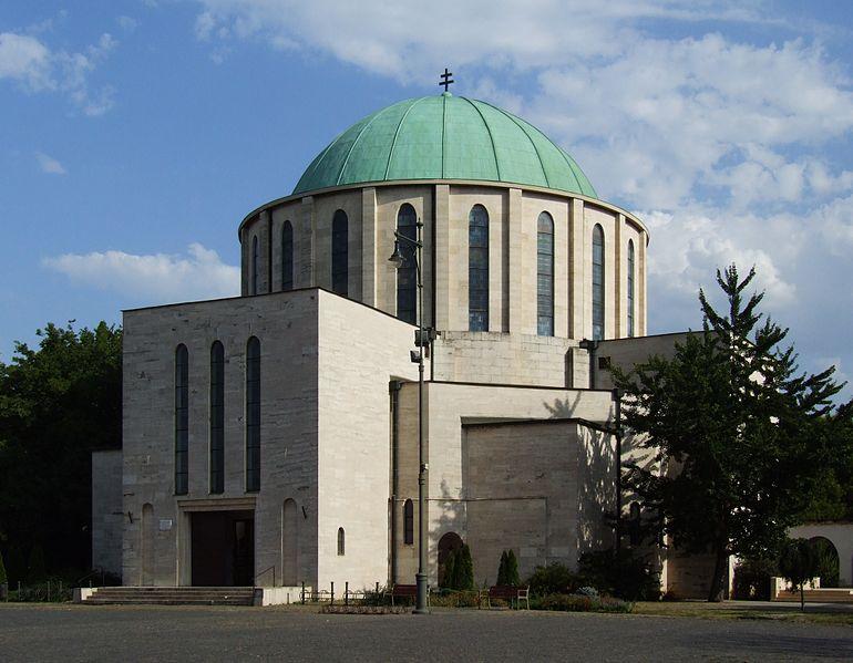 A Mohácsi Fogadalmi Emléktemplom. Kép: Wikimedia Commons / Pudelek