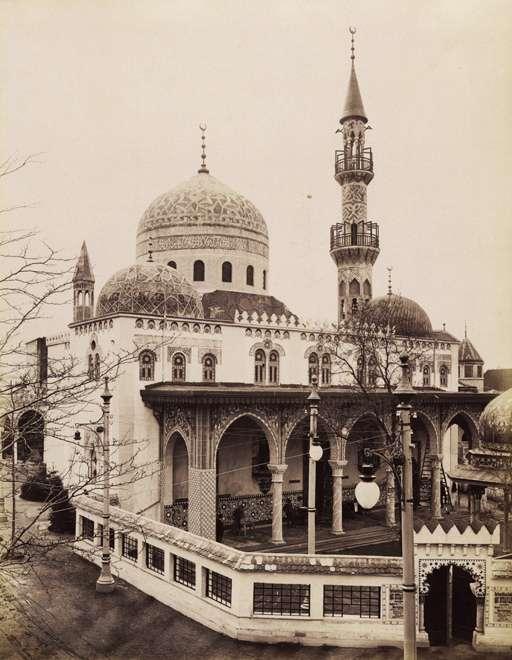 Ős-Budavár a mecsettel.<br /><br />Forrás: Fortepan / Budapest Főváros Levéltára. Levéltári jelzet: HU.BFL.XV.19.d.1.09.132
