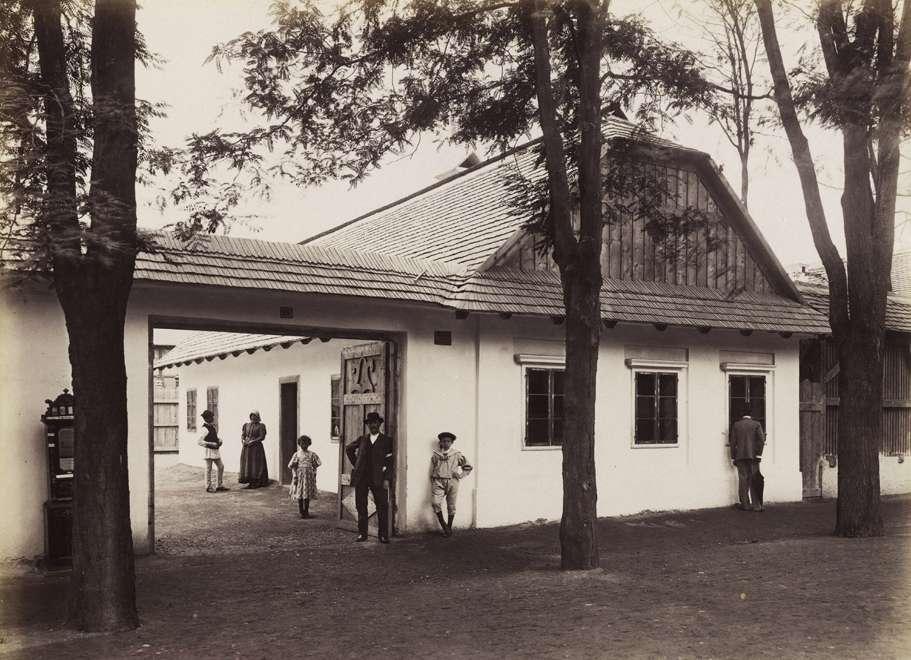 Abaúj-Torna megyei metzenzéfi ház (Néprajzi Falu). <br /><br />Forrás: Fortepan / Budapest Főváros Levéltára. Levéltári jelzet: HU.BFL.XV.19.d.1.09.185<br />