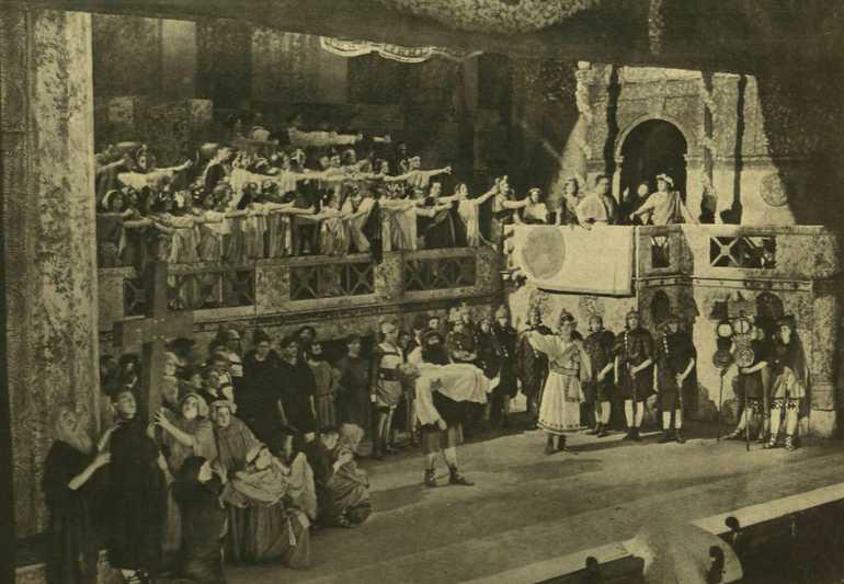A Népopera megnyitó előadása. Alexy fölvételei. kép: dka.oszk.hu