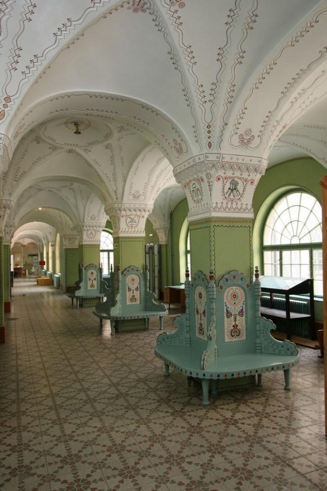 A Városháza enteriőrje. Kép: heritage-su.org.rs