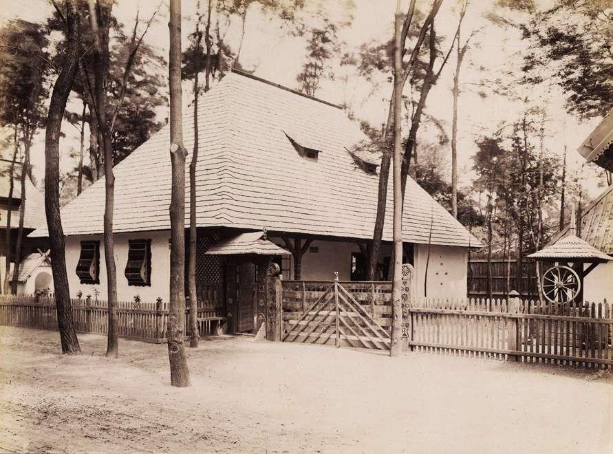 A Kolozs megyei kalotaszegi ház (Néprajzi Falu). <br /><br />Forrás: Fortepan / Budapest Főváros Levéltára. Levéltári jelzet: HU.BFL.XV.19.d.1.09.188