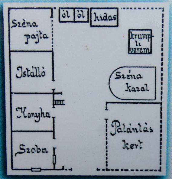 Kép: részlet a Kamon-kő tanösvény információs táblájáról
