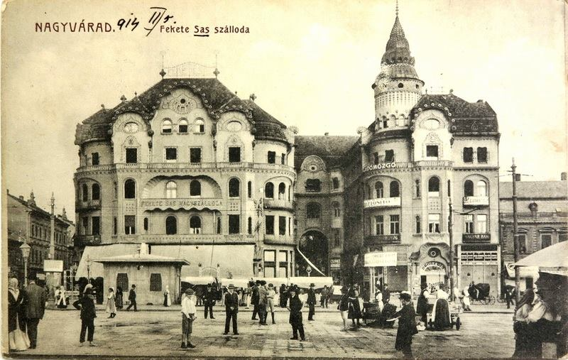 Régi képeslap a palotáról. Kép: kitervezte.hu