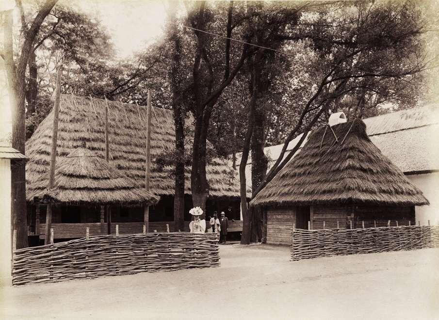 Néprajzi falu, rutén ház Bereg megyéből. <br /><br />Forrás: Fortepan / Budapest Főváros Levéltára. Levéltári jelzet: HU.BFL.XV.19.d.1.09.191