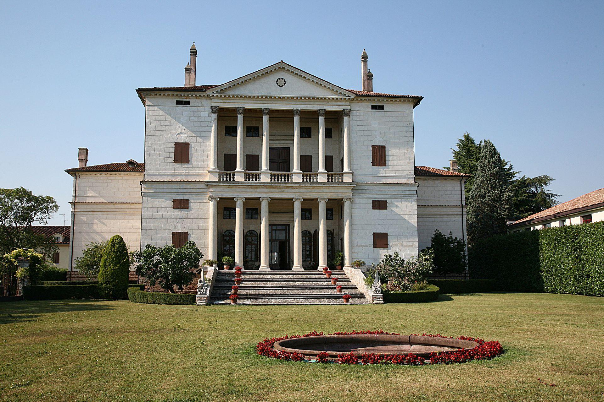 Villa Cornaro, Piombino Dese<br /><br />30 km-re Velencétől található, a tipikus reneszánsz villa mintapéldája.<br /><br />Kép: Wikimedia Commons / Hans A. Rosbach