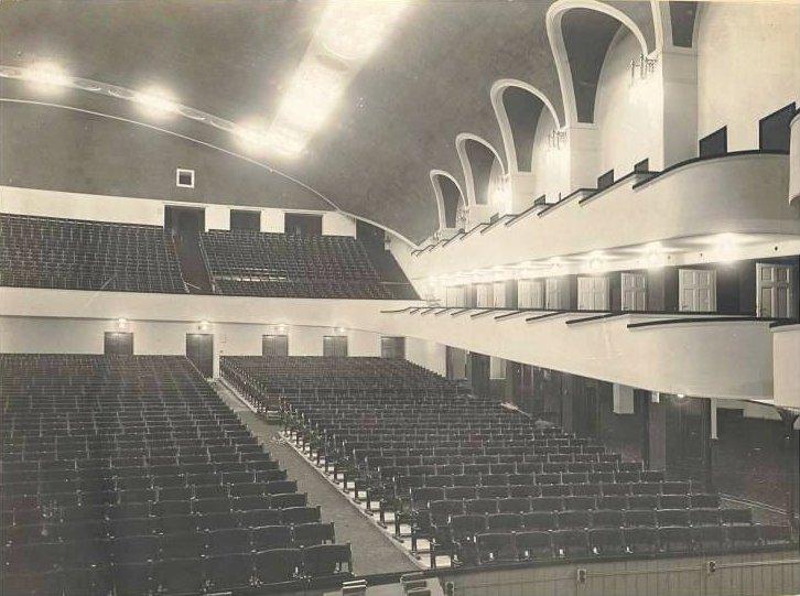 A színház belseje 1917-ben. Kép: Wikipedia